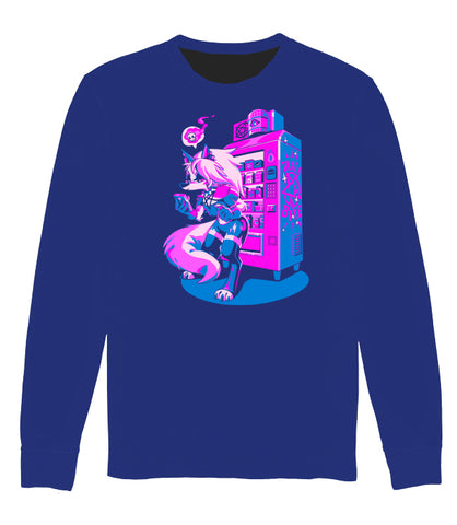 LONG SLEEVE Coffee Break With Loona (BLUE VARIANT) *LIMITED RUN*