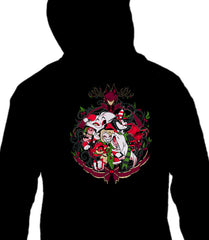 ZIP UP HOODIE A Hazbin Holiday Party *LIMITED RUN*