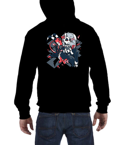 ZIP UP HOODIE Let Me Help Loonie! :3 *LIMITED RUN*