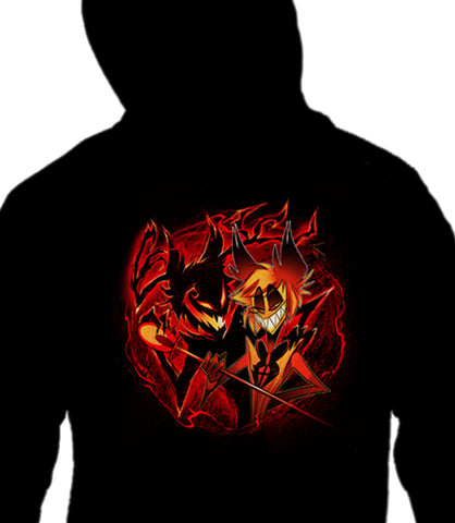ZIP UP HOODIE Alastor and his Shadow *LIMITED RUN*