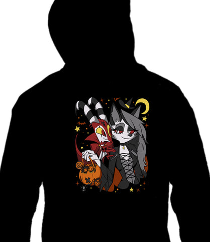 ZIP UP HOODIE Friendly Trick or Treat *LIMITED RUN*