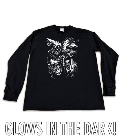LONG SLEEVE Ghosts and Demons GLOW IN THE DARK *LIMITED RUN*