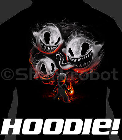 ZIP UP HOODIE Haunting the Hero (Add 2-4 WEEKS PROCESSING TIME)