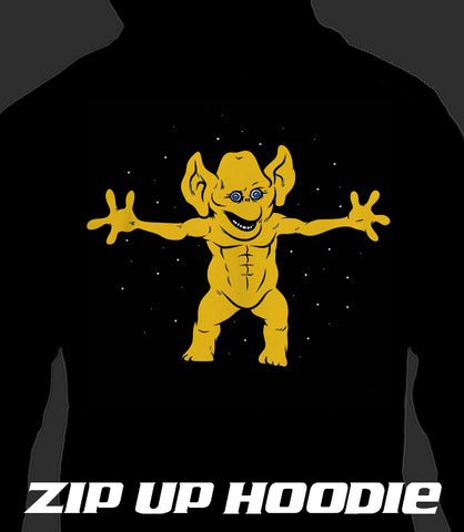 ZIP UP HOODIE Official Freddie Freaker (Party Freak) *LIMITED RUN*