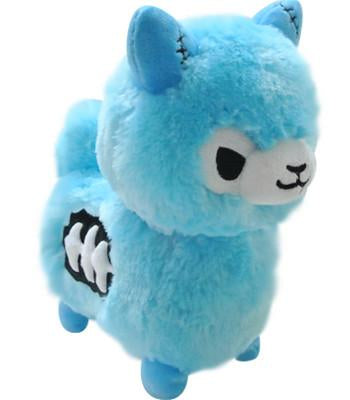 Zombie Alpaca Plush (Blue)