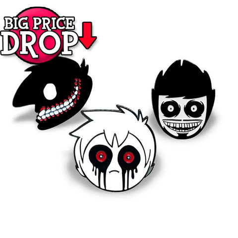 Creepy Pals Pin set *CLEARANCE*