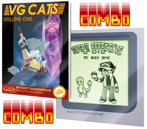 Super Effective + VG Cats Combo Pack (Paperback)