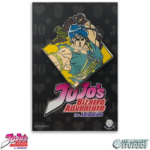Diamond Jonathan Joestar - JoJo's Bizarre Adventure Pin
