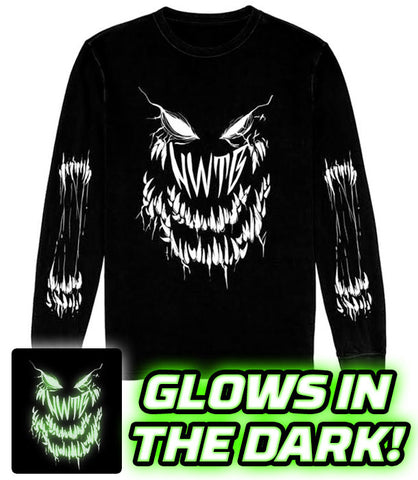 LONG SLEEVE Count the Teeth GLOWS IN THE DARK! *PRE-ORDER*