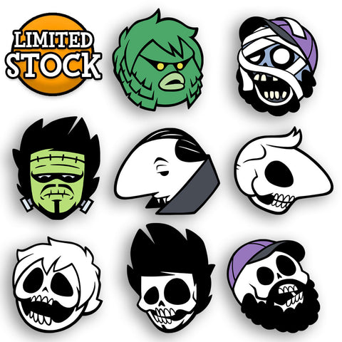 Oney Halloween Pin Set BUNDLE