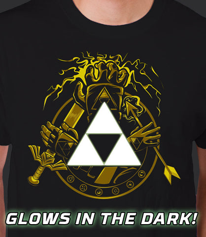 Courage Power Wisdom GLOW IN THE DARK