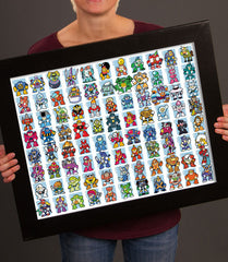 MegaMan Masters Poster *CLEARANCE*