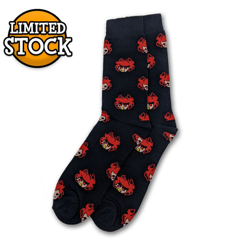 Alastor Pattern Socks