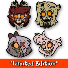 Hazbin Zombie Pin Set *LIMITED EDITION*