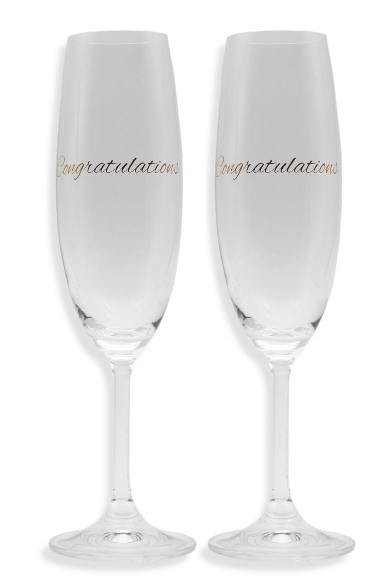 CHAMPAGNE SET | CONGRATULATIONS