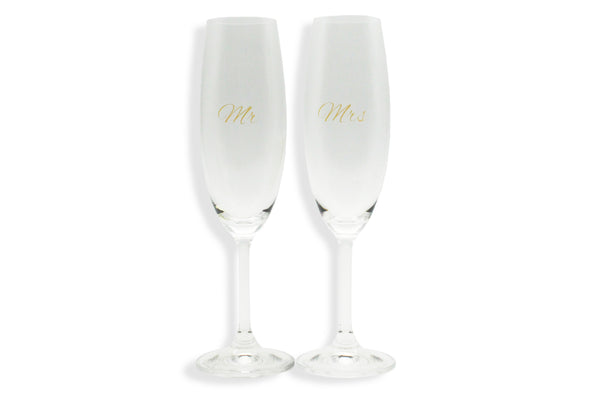 CHAMPAGNE SET | MR & MRS