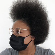 Load image into Gallery viewer, Black High Tech Washable Mask - PACK OF 3
