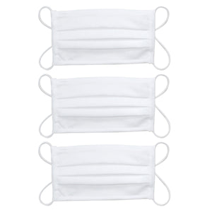 White High Tech Washable Mask - PACK OF 3