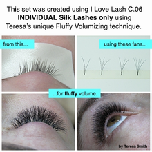 Load image into Gallery viewer, C-Curl | MIXED Silk Lashes (8-13mm)