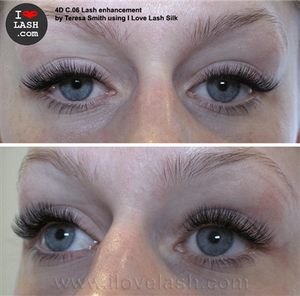 C-Curl | SINGLE SIZE Silk Lashes