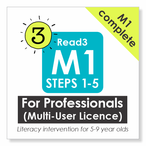 Read3 muliti-user licence for schools, clinics and tutoring companies
