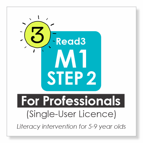 Read3 offers Tier3 Literacy Intervention for children 5-9 years