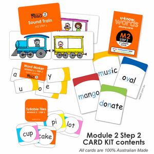 Read3 Parent Card Kit | Module 2 | Step 2
