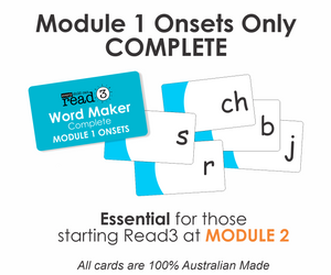 Read3 Parent Card Kit | Module 2 | Step 1