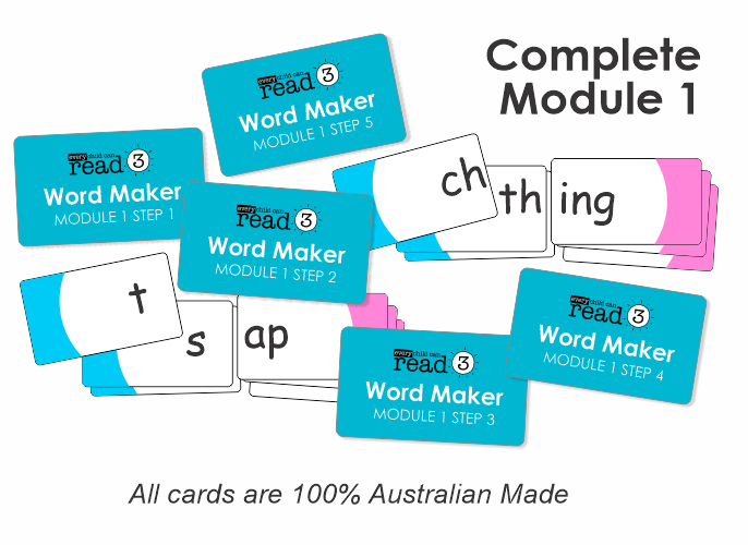 Word Maker Cards | Complete Module 1