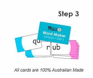 Word Maker Cards | Module 1 | Step 3