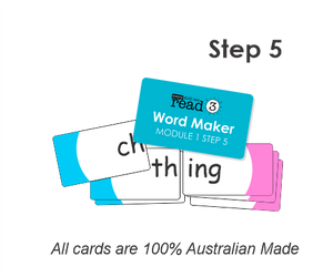 Word Maker Cards | Module 1 | Step 5