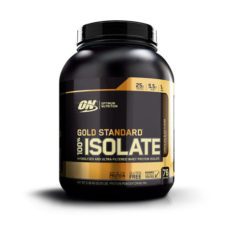 ON Gold Standard 100% Isolate Sabor Chocolate 5 LB