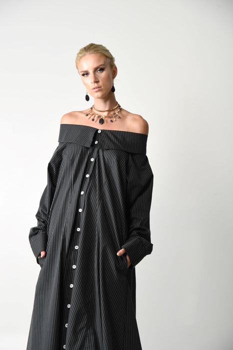 SHIRT DRESS 1 - cotton