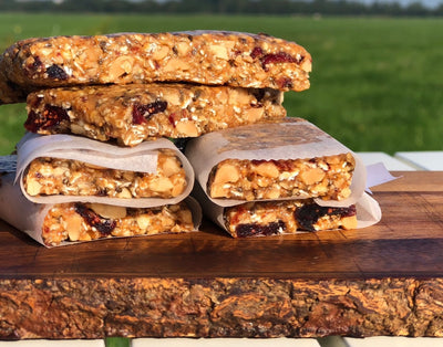Verse energy bars recept zonder oven The Nuthouse