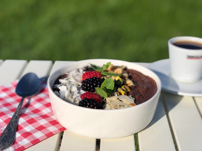 Chia chocolade breakfast bowl The Nuthouse Recept