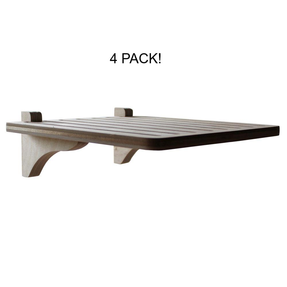 Square Step (wall-attach-with-brackets) - 4 PACK