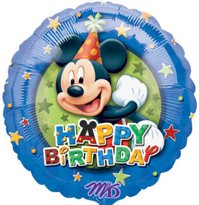 Happy Birthday - Mickey mouse stars
