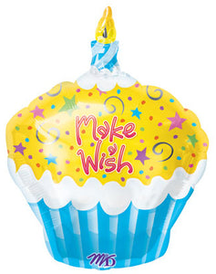 Happy Birthday - Make a wish cupcake