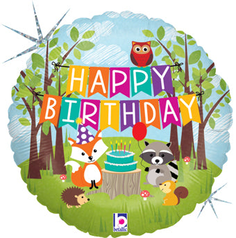 Happy Birthday - Woodland party