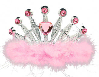 Diamond Feather Tiara