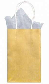 Gold Solid Kraft - Small Tote bag