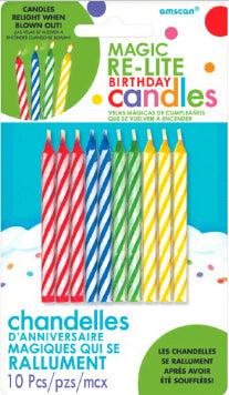Birthday candles - Magic relite