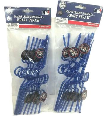 Nationals Crazy Straws