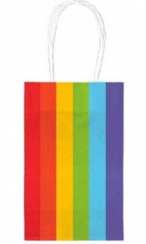 Rainbow Kraft - Small Tote bag