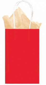 Red Solid Kraft - Small Tote bag
