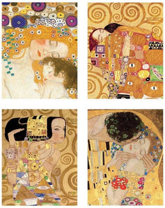 Klimt Mother and Child - Blank boxed notes