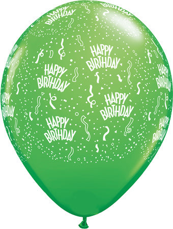 Happy birthday kiwi- Latex balloon