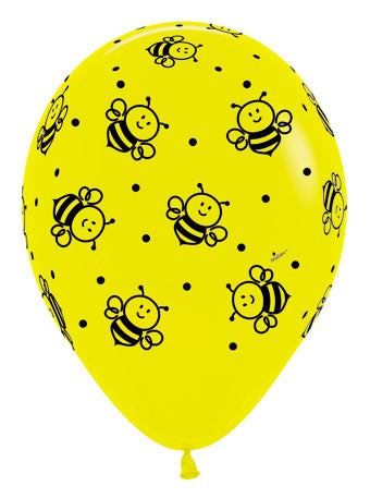 Bumble bee yellow - Latex balloon