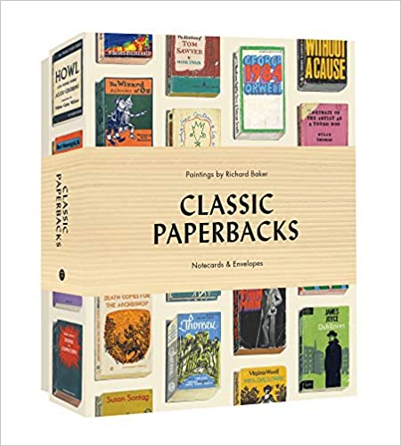 Classic Paperbacks Boxed Notecards