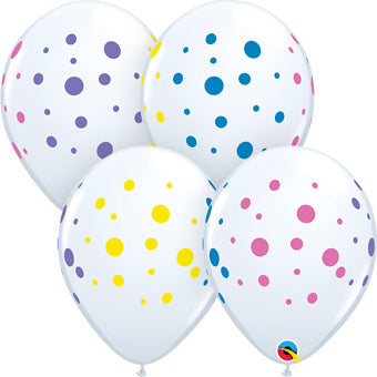 Colorful Dots - Latex balloon
